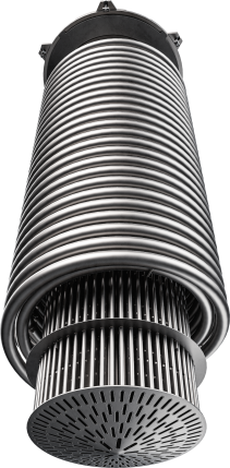 stainless steel coil heat exchanger